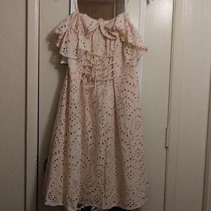 Astr spaghetti strap dress